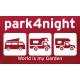 T-Shirt park4night Rouge