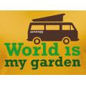 T-Shirt World is My Garden Van