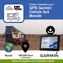 POI GPS - Garmin - Cellule...