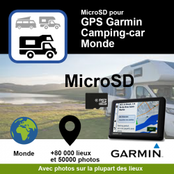 POI Garmin - Camping car -...
