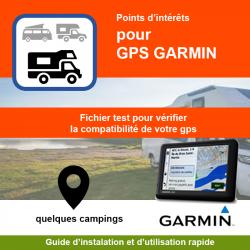 POI de test pour GPS Garmin