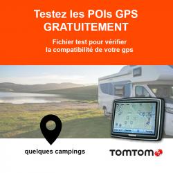 POI de test pour GPS Tomtom