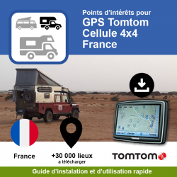 POI GPS - TomTom - Cellule...