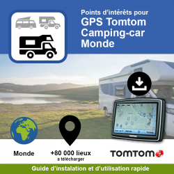 POI GPS - TomTom - Camping...