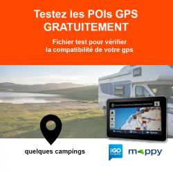POI de test pour GPS iGO/Mappy