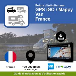 POI GPS - iGO/Mappy - Van -...