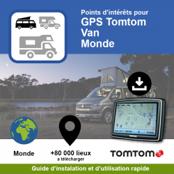 POI GPS - TomTom - Van - Monde